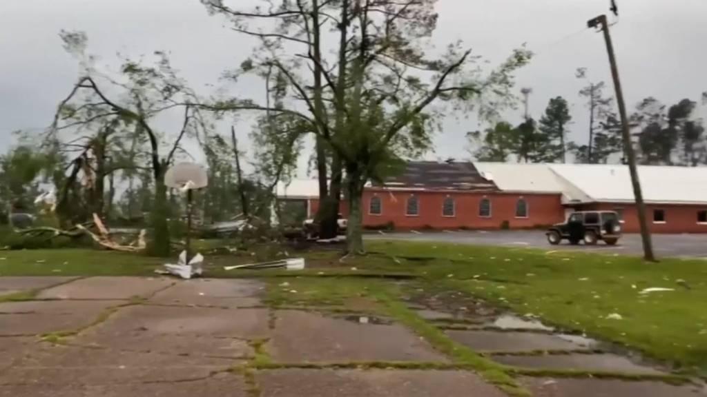 USA: Sechs Tote bei Tornado im Bundesstaat Mississippi