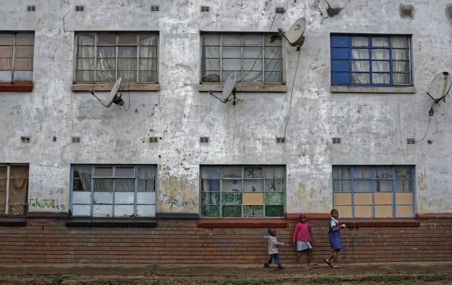 Impressionen aus Simbabwe (Mbare bei der Hauptstadt Harare)