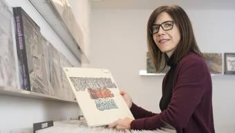 Der Zauber von Vinylplatten: Jeaninne Lampreu setzt auf Qualität, die auch bei jungen Leuten sehr gut ankommt.