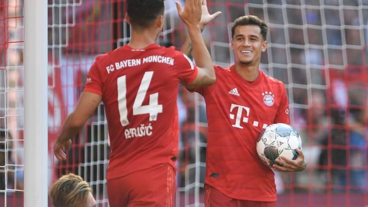 Ivan Perisic und Philippe Coutinho feierten ihr Heimdebüt mit Bayern München