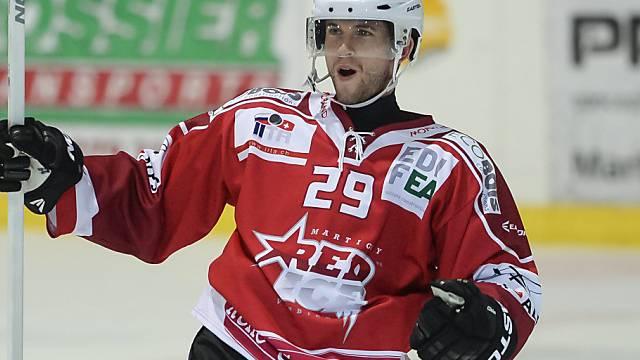 Kevin Ryser erzielte den Siegtreffer für Red Ice gegen Langenthal