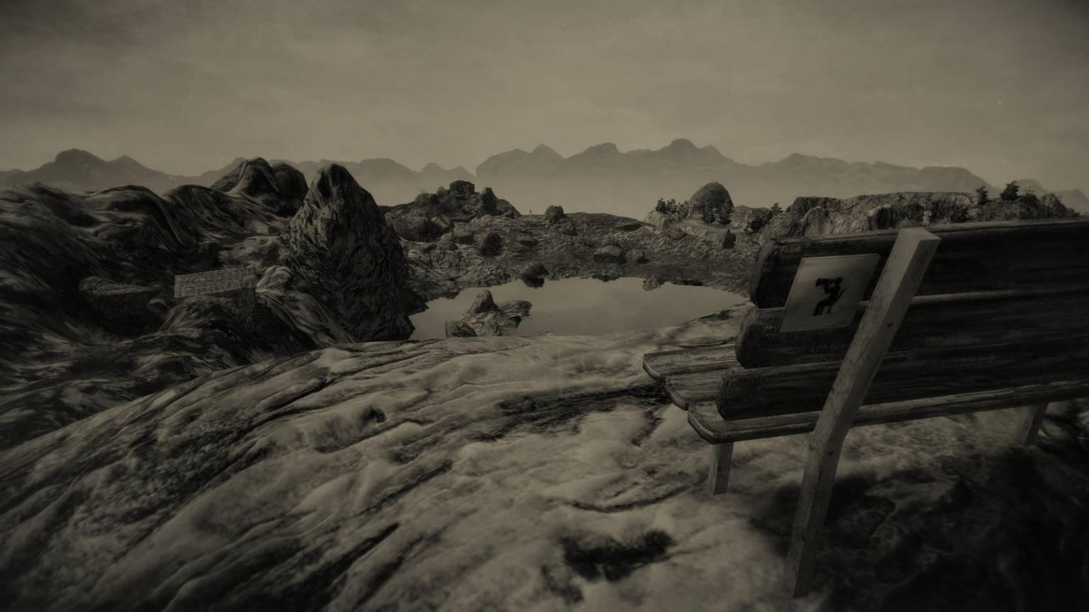 Mundaun - Landschaft in der Surselva