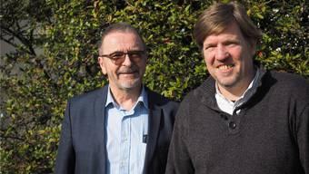 Engagieren sich in der Hospizbewegung: Markus Denger (l.) und Bernhard Lindner.