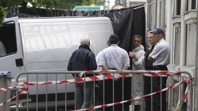 Ermittlungen beim Haus in Nantes