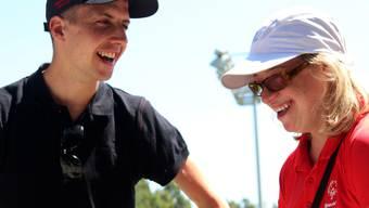 Simon Ammann reiste nach seinem Besuch der Special Olympics World Summer Games in Los Angeles direkt nach Hinterzarten