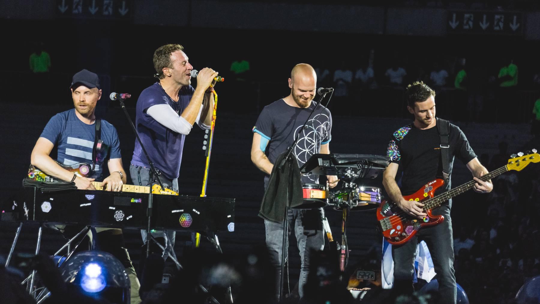 Coldplay soll zwei neue Alben rausbringen