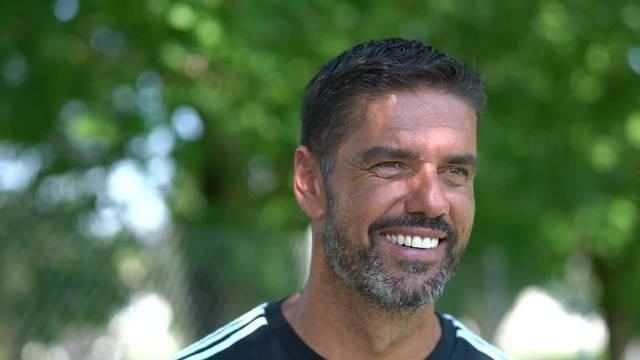 Kurzinterview mit Pascal Zuberbühler vom Trainingsstart des FC Wohlen