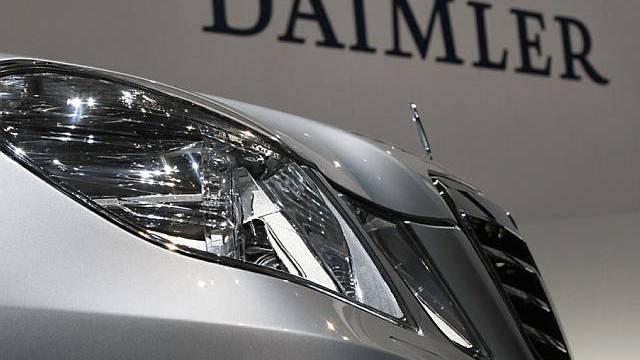 Auch Daimler leidet unter Auto-Krise
