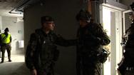 Militär-Übung