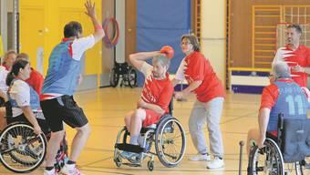 Die Sportart Rafroball ist auf Fairness und eine Chancengleichheit angesichts unterschiedlicher Beeinträchtigungen ausgelegt.