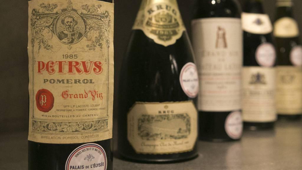 Französische Forscher haben untersucht, wie sich edle Weine wie der Château Petrus in der Schwerelosigkeit verändern. Die Önologen waren bei der Verkostung von den edlen Tropfen, die über ein Jahr lang auf der ISS waren, sehr angetan (Symbolbild).