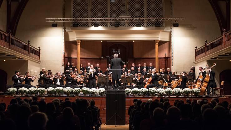 Konzertchor Solothurn sang am Wochenende im Konzertsaal. (Archivbild)