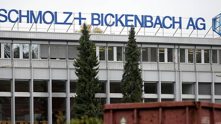 Beim Schweizer Stahlkonzern Schmolz+Bickenbach scheint mit dem zweiten Quartal die Talsohle durchschritten. (Archiv)