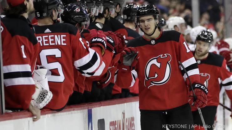 Nico Hischier wird mit den New Jersey Devils die Playoffs bestreiten