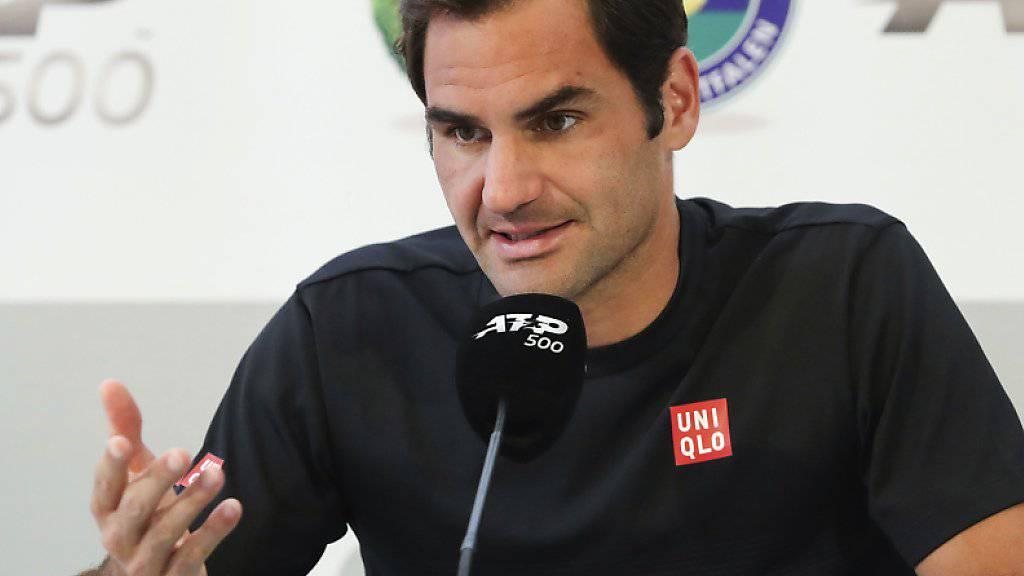 Federer lässt Zukunft nach der Karriere offen