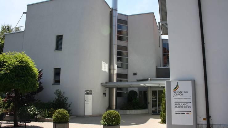 Die Privatklinik Obach in Solothurn