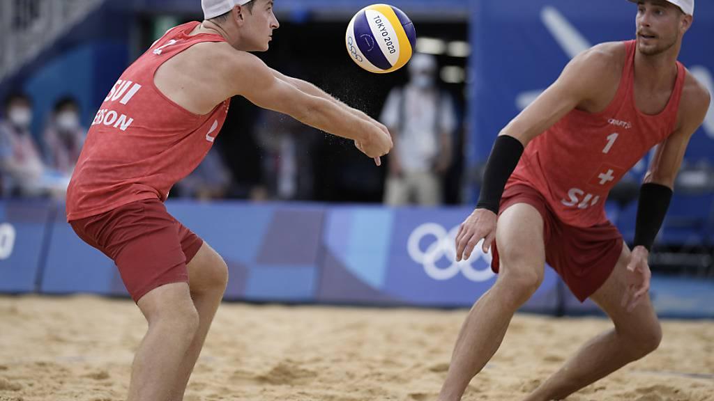Gerson/Heidrich verbleiben im Olympia-Turnier