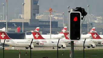 Swiss-Maschinen bleiben weiter am Boden