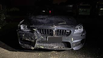 Unfall in Klingnau (Juni 2020)