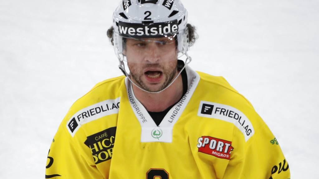 Der neue Schweizer Rekord-Hockeyspieler: Beat Gerber, Verteidiger des SC Bern