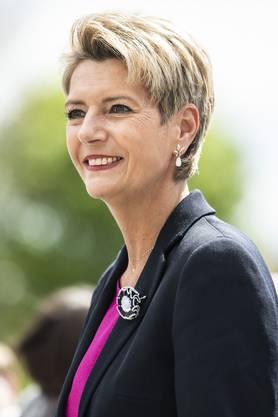 Karin Keller-Sutter (*1963), FDP.