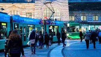 Der CentralbahnplatzBahnhof SBB.