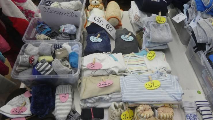 Keine Kinderkleiderbörse in Ennetbaden im März. Im September soll die nächste Kinderbörse stattfinden. (Archivbild)