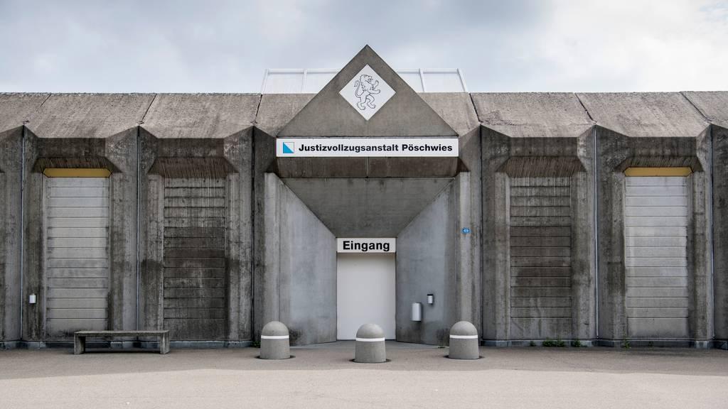 «Pöschwies»: Häftling in Zelle tot aufgefunden
