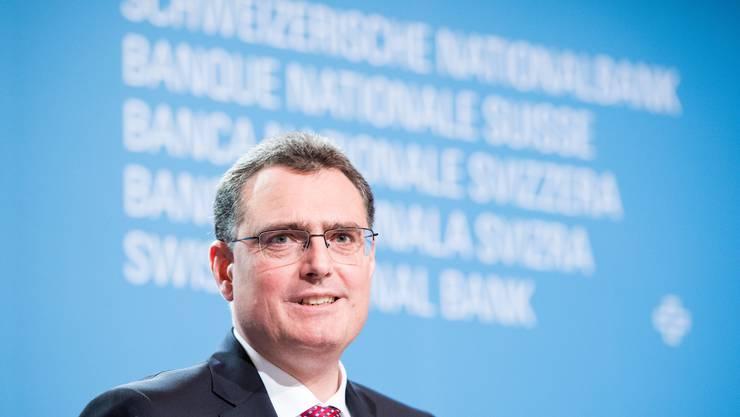 Thomas Jordan Präsident der Nationalbank