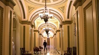 Die Gänge im US-Repräsentantenhaus bleiben leer - die Abgeordneten werden nicht mehr 2012 über den Haushaltsstreit abstimmen.
