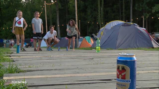 Wenig Camper trotz Besucherrekord am ZOA
