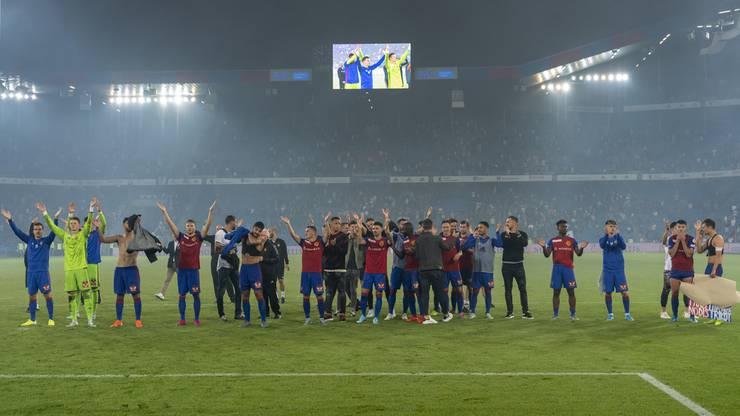 Damit steht der FCB in der dritten Runde der Champions-League-Qualifikation.