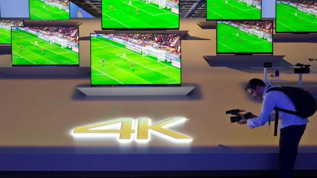 Das TV-Geschäft von LG Electronics läuft dank boomender Nachfrage rund. (Symbolbild)