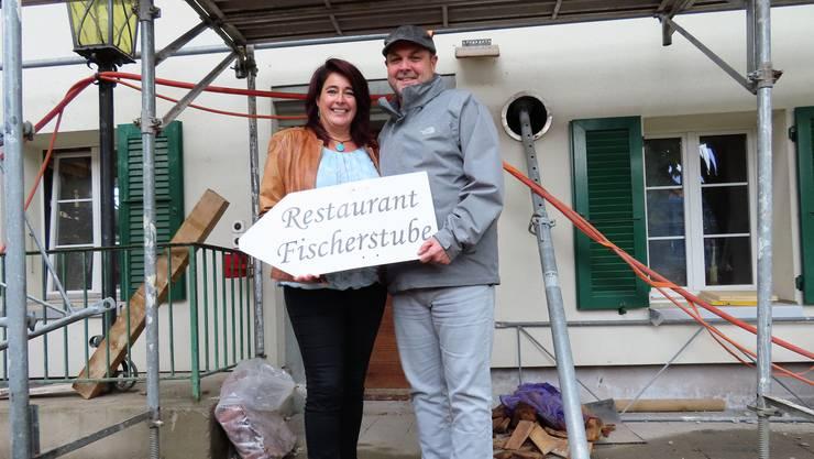 Andrea und Daniel Fischer übernehmen die Fischerstube in Altreu.