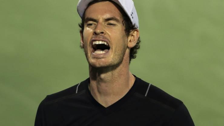 Topgesetzter Andy Murray hatte gegen Philipp Kohlschreiber viel Grund zum Ärger