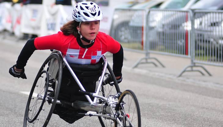 Licia Mussinelli (Derendingen) wurde Weltmeisterin im Rollstuhl U18 400m/800m.