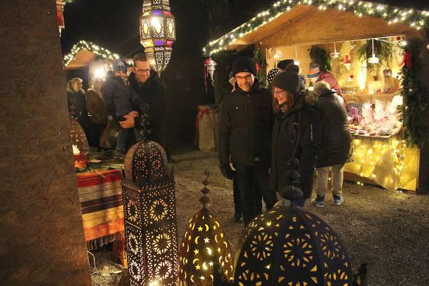Lampen aus Marokko sorgen für Stimmung.