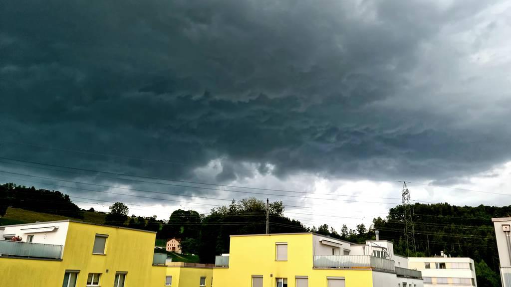 Starke Gewitter über der Ostschweiz – 90 Schadenmeldungen im Thurgau