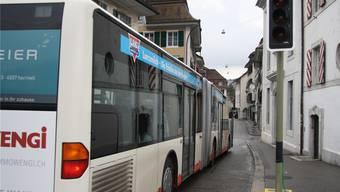 Bis im Februar werden die BSU-Busse durch zwei Ampeln bei der Wengibrücke und dem Rossmarktplatz am Kreuzen gehindert.