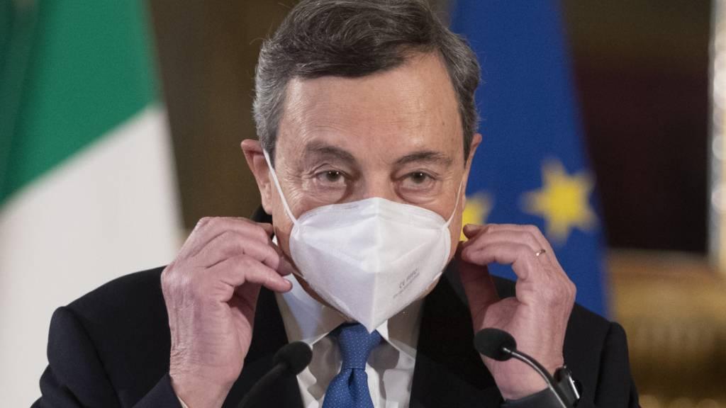 Regierung in Rom gesucht: Draghi beendet erste Gesprächsrunde