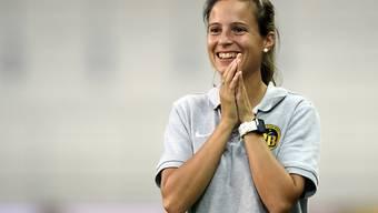 Marisa Wunderlin ist seit der Saison 2016/17 in der NLA als Trainerin des Frauen-Teams der Young Boys tätig