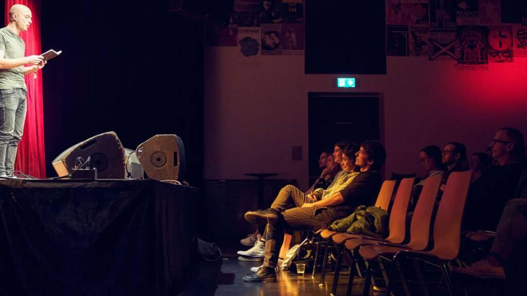 Was möglich ist: St.Galler Literaturfestival findet statt