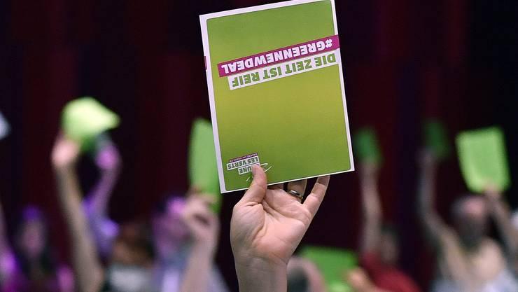 Die Grünen trafen sich erstmals seit der Coronakrise wieder zu einer Delegiertenversammlung. Diese fand in Brugg (AG) statt.