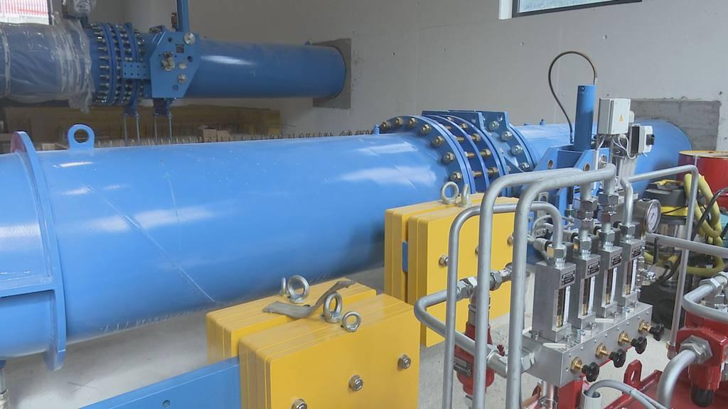 Urner Wasserkraftwerk Schächen bald fertig