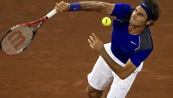 Roger Federer gab sich keine Blösse