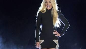 Die US-Popsängerin Britney Spears bei einem Promoauftritt vor dem Park MGK Hote-Casino in Las Vegas im Oktober letzten Jahres. (Archivbild)