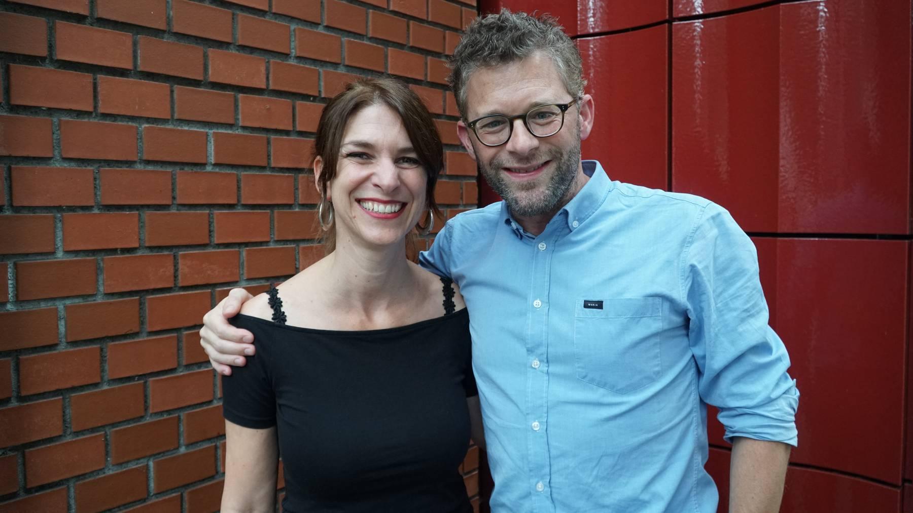 Sharon Zucker mit David Karasek