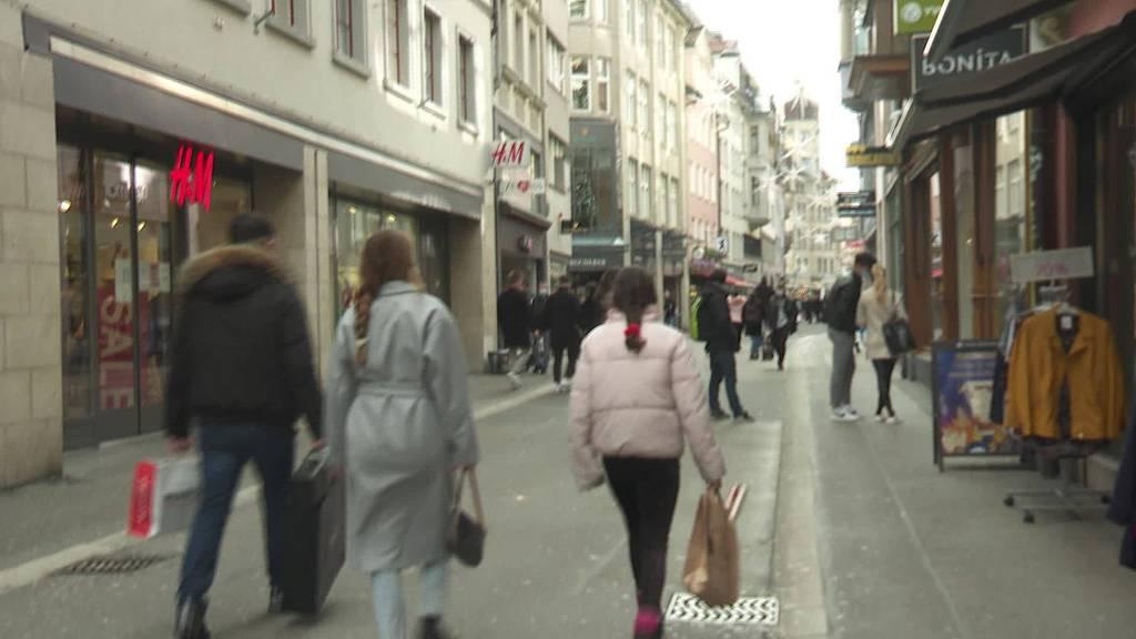 Letzter Einkauf vor Weihnachten: Ansturm bleibt aus