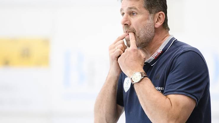 Coach Martin Rubin macht mit Wacker Thun auf sich aufmerksam