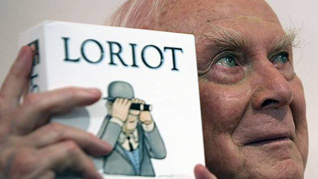 Loriot alias Vicco von Bülow (Archiv)